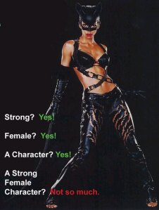 A Strong Female Character? Not so much.
