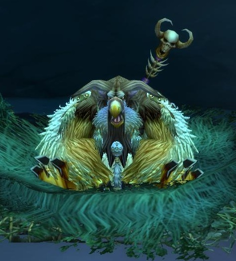 Boomkin, a World of Warcraft character