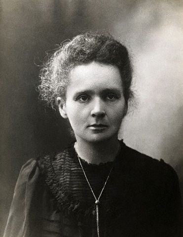 Photograph of Marie Curie, ca 1898