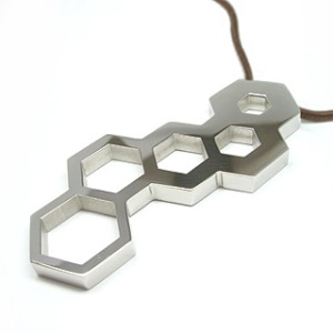Honeycomb Necklace from Blend Creations