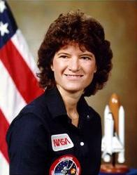 Photo of Sally Ride.