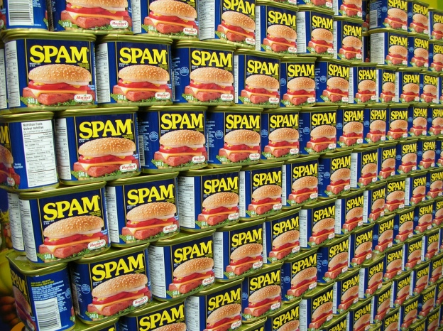 Wall of Spam, by freezelight on Flickr CC BY-SA 2.0