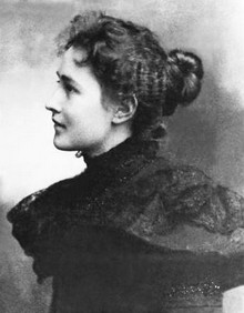 Photograph of Maud Menten