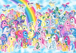 My Little Pony group shot, artist unknown