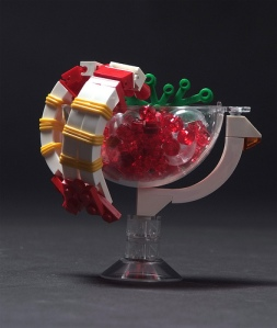 Lego shrimp cocktail for the Iron Builder's challenge