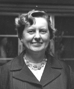 Head and shoulders photo of Margaret Dayhoff