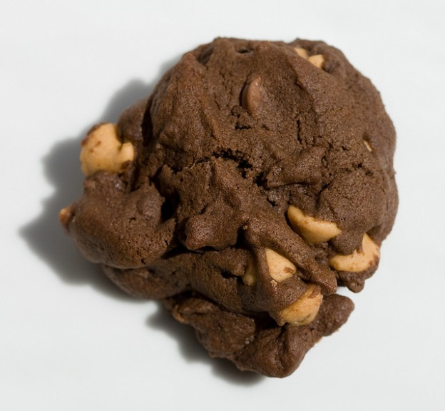 Chocolate Peanut Butter Chip Cookie (by terriko)