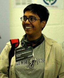 Sumana Harihareswara(Credit: Tobias Schumann CC BY-SA)