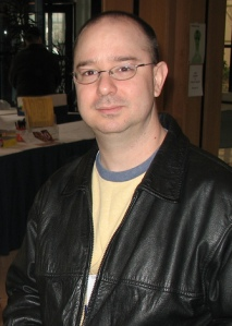 Photograph of John Scalzi, by I am the Jeff