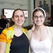 Annalee and Mackenzie at Adacamp DC.