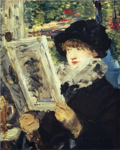 Édouard Manet's Woman Reading, 1897/80