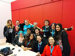 feminist hacker lounge at PyCon 2014