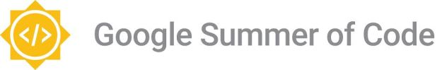 "GSoC2016Logo: a sun containing the characters ""</>"" with the words ""Google Summer of Code"" beside it"